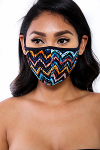 REUSABLE SOCIAL DISTANCING MASK (RAINBOW)