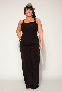 PALAZZO PANTS IN BLACK