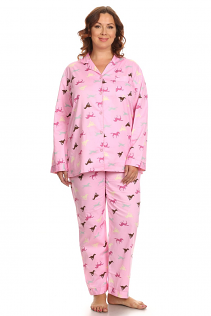 100% COTTON PAJAMAS IN PINK HORSES