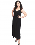 CARMEL MAXI DRESS IN BLACK